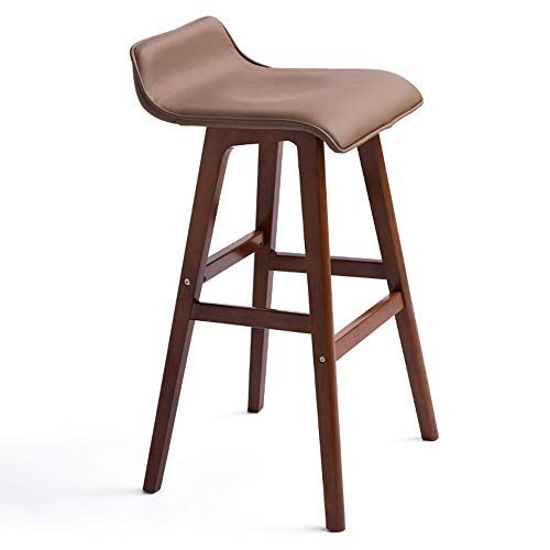 Wenbo Home Bar Stool Continental Bar Stool Barstool Qu Wood Bar Chair Simple Retro Bar Stool With Images Retro Bar Stools Comfortable Bar Stools Bar Stools