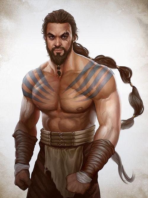 monk, barbarian