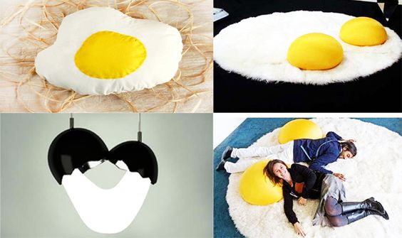 15 Funny and Creative Egg Shape Decorations