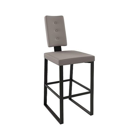 """Barstool: Amisco Soho Metal 30"""" Barstool - Brown ($247) ❤ liked on Polyvore featuring home, furniture, stools, barstools, brown, soho furniture, brown bar stools, brown stool, amisco bar stools and metal bar stools"""