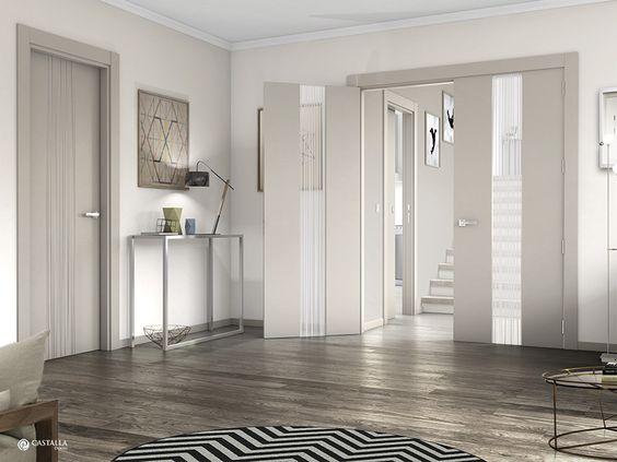 Inspiración, interiorismo y decoración: Puerta interior blanca modelo Quevedo | Puertas Castalla