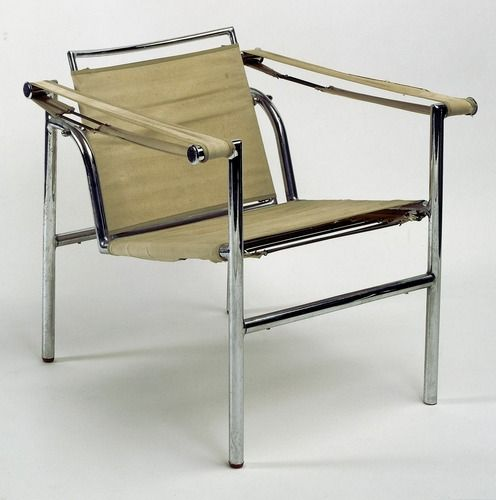 fauteuil b 301 chairs charlotte and le corbusier. Black Bedroom Furniture Sets. Home Design Ideas
