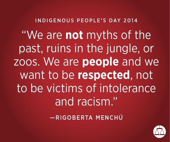 Happy Indigenous People's Day 2014