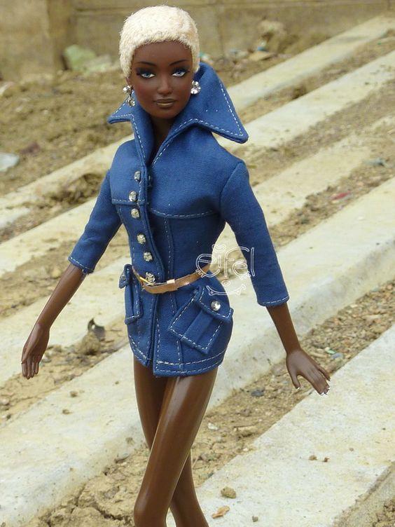 MY Byron Lars Indigo Obsession Barbie