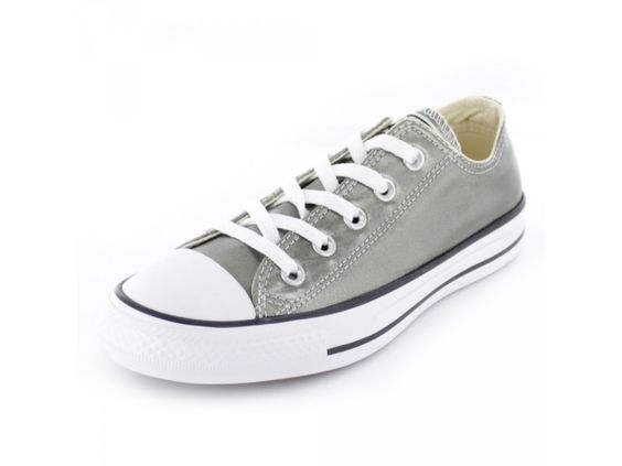 Converse All Star CTAS Ox - Damen Sneaker in grau-metallic