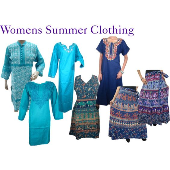 Womens Summer Clothing by mogulinteriordesigns on Polyvore