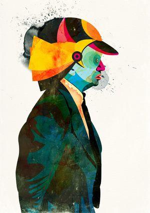 """""""Helmet"""" from Alvaro Tapia Hidalgo #posters #prints"""