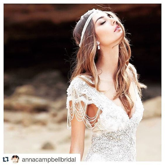 An inspiration!  Love this stunning gown by @annacampbellbridal  #instalike #instapic #inspiration #picoftheday #stunning #gown #gorgeous #beaded #pearls #crystals #swaroski#beautiful#beadwork#bridal #bridalgown #bride#bridalfashion #stylish #style #detail #wedding #weddingdress #weddingideas #amazing by arlenedmontedesigns