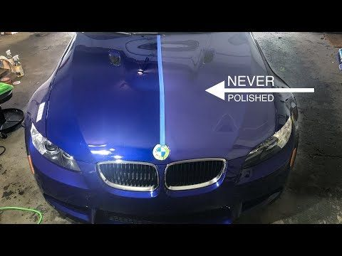 First Polish After 7 Years Interlagos Blue E92 M3 Youtube