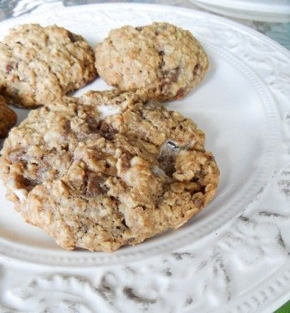S'mores Oatmeal Cookies