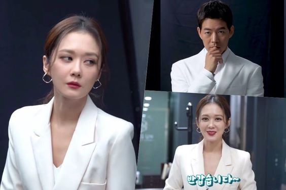 "Watch: Jang Nara And Lee Sang Yoon Introduce ""VIP"" Characters Behind The Scenes Of Drama Poster Shoot"