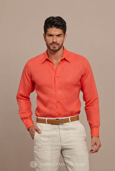 Productos de la empresa camasha guayaberas y ropa de lino for Boda en jardin como vestir hombre