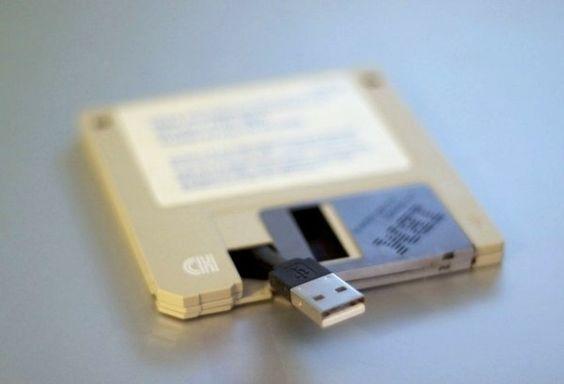 Unidade de disquete USB