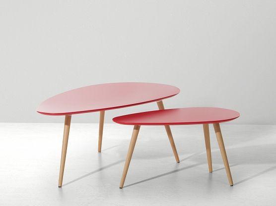 https://www.beliani.ch/esszimmer-moebel/beistelltisch-tisch-zweiteilig-fly-rot.html A red table for your tea and coffee!