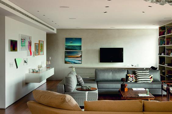 Peças históricas de um casal paulistano compõem novo apartamento - Casa