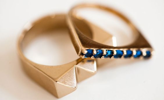 Midnight Studder Rings by TOMTOM