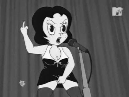 Betty boop smart pussy