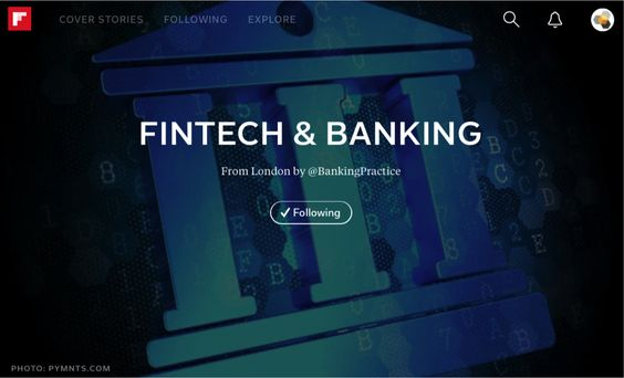 Our #Banking & #FinTech Mag.   http://flipboard.com/@bankingpractice/fintech-%26-banking-tjbcobg9y   #Innovation #FutureOfBanking #BigData #FinServ #BlockChain