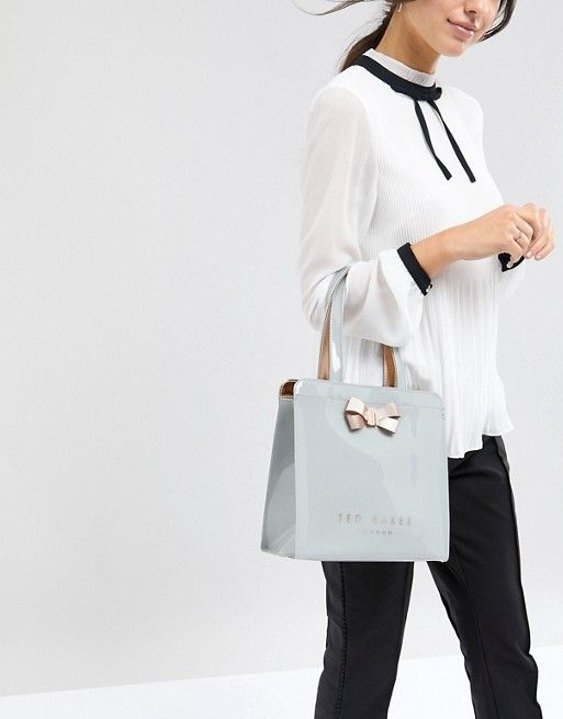 stable quality new concept sale retailer Ted Baker Small Icon Bag with Bow | Easter dresses | Latest ...