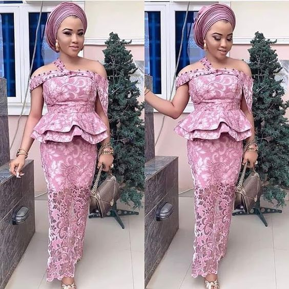 2019 Latest Beautiful Asoebi Styles for Events