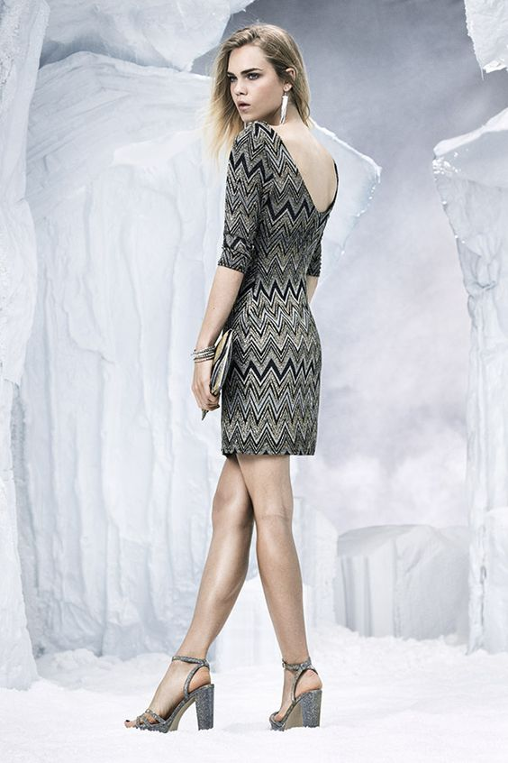 Don't be shy this party season - go for a dress that stands out for it's sparkle and print. £14.99 #newlook #PartyReady