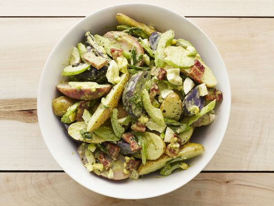with Bacon : This is potato salad all grown up. Fingerling potatoes ...