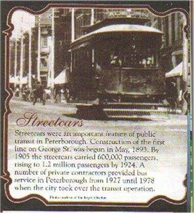 Streetcars in Peterborough
