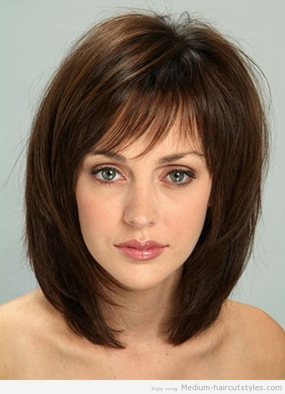 layered bob hair styles easy medium length hairstyles 2014 pictures gallery of 7342