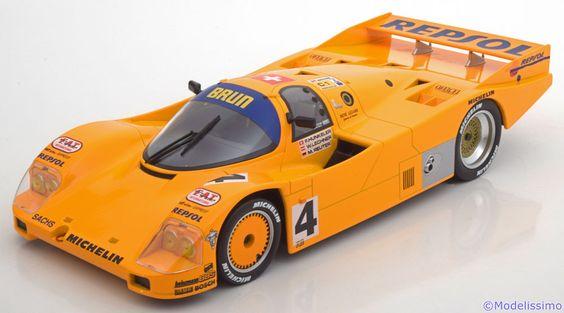 Le Mans Norev 1:18 Porsche 962 C No.4, 24h Le Mans Hunkeler/Lechner/Reuter 1988  Limited Edition 1000 pcs. mit Camel Decals www.modelissimo.de