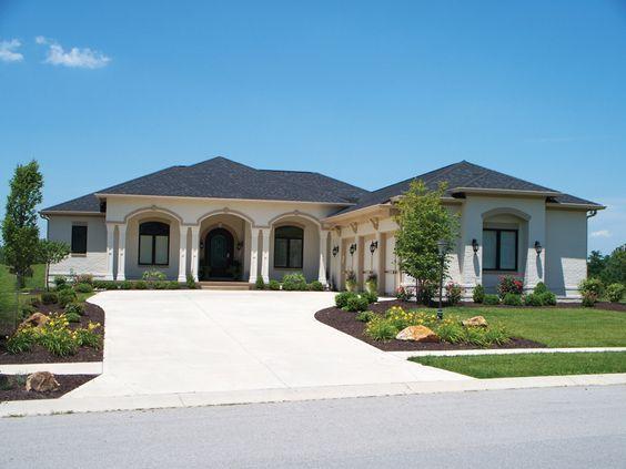 Pin By Schaefer Custom Homes On Custom Homes Mediterranean Style House Plans Mediterranean House Plans Florida House Plans