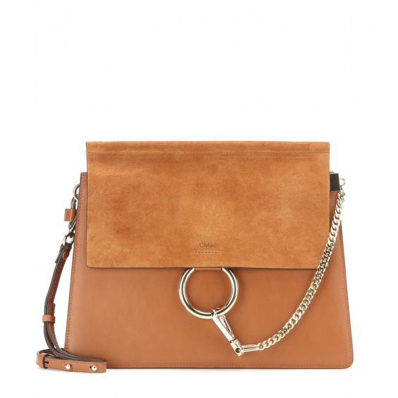 bag cloe - Chlo�� - Faye suede shoulder bag - Chlo��'s 'Faye' bag is timeless ...