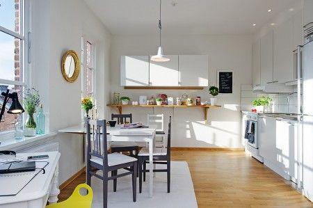 Vivir en 36m² - Estilo nórdico | Muebles diseño | Blog de decoración | Decoración de interiores - Delikatissen