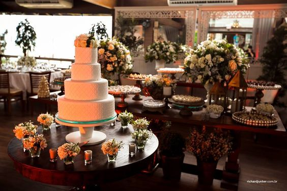 Bolo casamento - tradicional - clássico - wedding cake