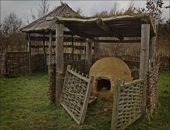 Gearwe, the Anglo-Saxon word which would eventually become Jarrow, is the name of a farm and a small settlement built using archaeological findings on Anglo-Saxon buildings which were being constructed when Bede was alive.