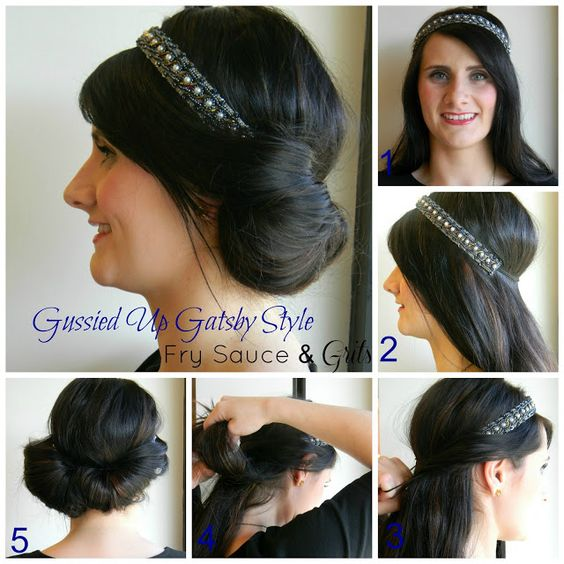 Stupendous Gatsby Hairstyles Gatsby And Hairstyles On Pinterest Short Hairstyles Gunalazisus