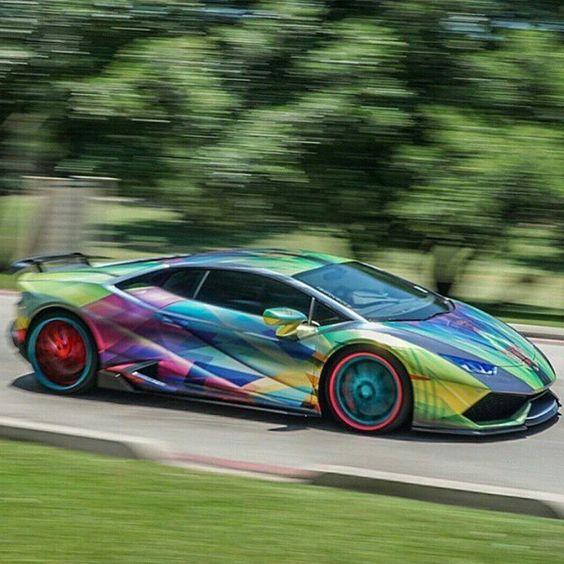 Lamborghini, Lamborghini Huracan And Rainbows On Pinterest