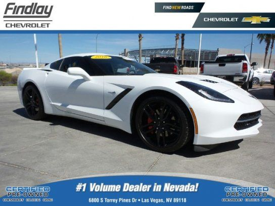 Coupe 2016 Chevrolet Corvette Stingray Coupe With 2 Door In Las