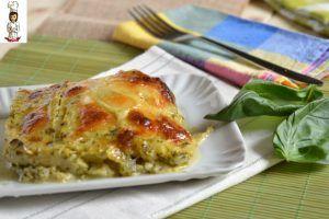 Parmigiana di zucchine al pesto