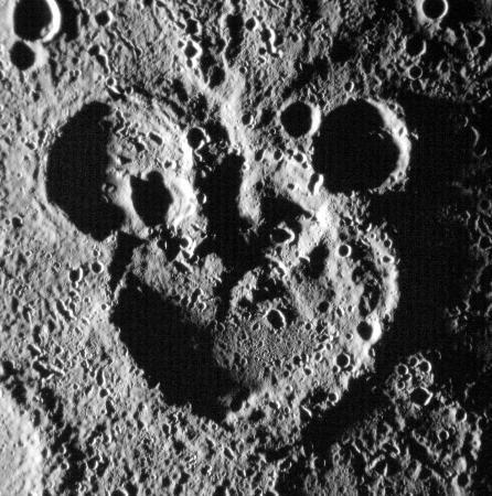 水星にミッキーマウス? 米探査機が撮影 - 47NEWS(よんななニュース)