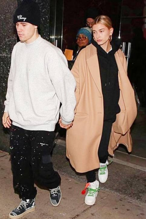 Hailey Bieber Fashion With Justin Bieber February 21, 2019
