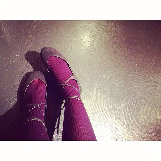 [christian peau] lace-up ballet shoes レースアップバレエシューズ