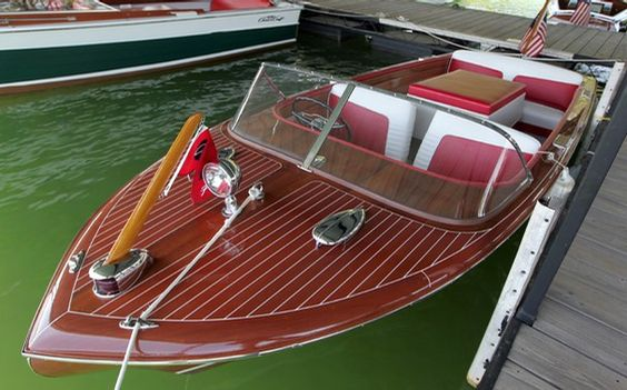 Nice Wooden Boat