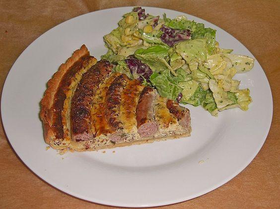 Bratwurst - Torte mit Senfkruste, ein sehr leckeres Rezept aus der Kategorie Tarte/Quiche. Bewertungen: 105. Durchschnitt: Ø 4,1.