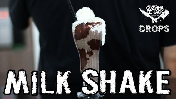 Bebida - Milk Shake de Oreo e chocolate