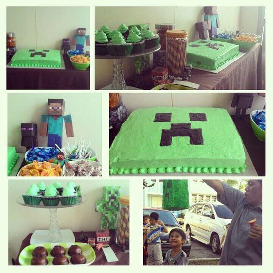 Minecraft birthday :)