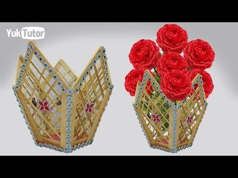 153 Ide Kreatif How To Make Vase Flower Vas Bunga Yang