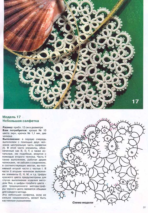 Tatting Pattern: