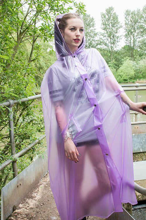 Promotional long cape
