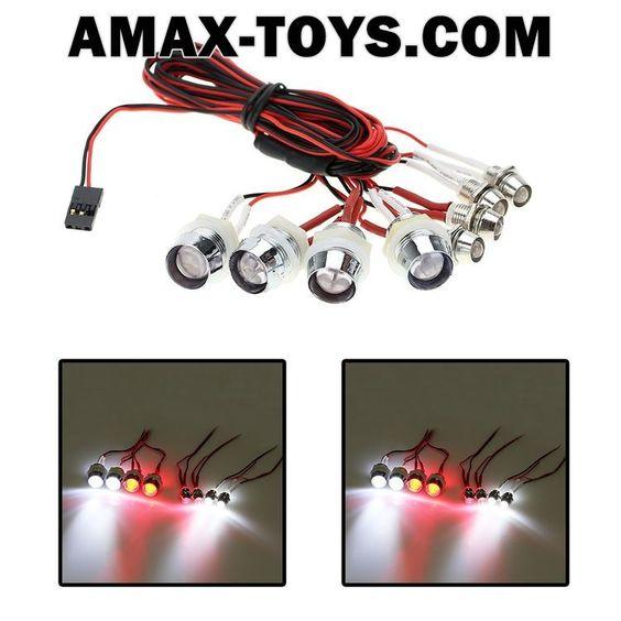 911025- L8 LED Light System for RC Car Truck Model