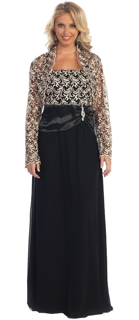 Amazon.com: US Fairytailes Women's Mother of the Bride Formal Evening Dress: Clothing
